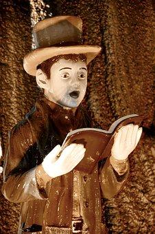Singer, Figurine, Statue, Decoration, Expression