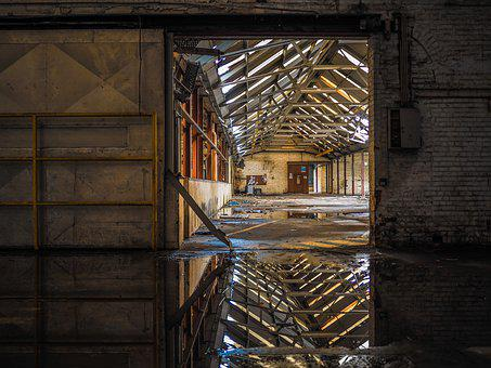 Lost Places, Factory Building, Industry, Factory