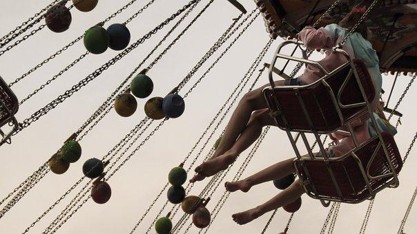 Carousel, Chain Carousel, Fair, Year Market