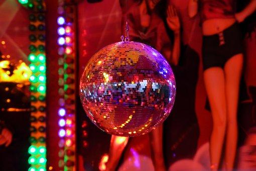 Disco, Disco Ball, Party, Fair, Year Market