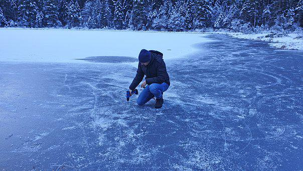 Lake, Ice, Winter, Wintry, Eissee, Frozen Lake, Frozen
