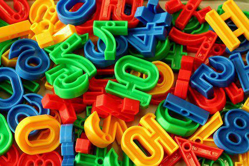 Pads, Digits, Colorful, Fun, Education, Digit