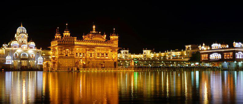 Architecture, Indian, Worship, Lake, Travel, Landmark