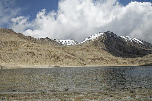 Tajikistan, Ozero Chukur-kul, Lake Water