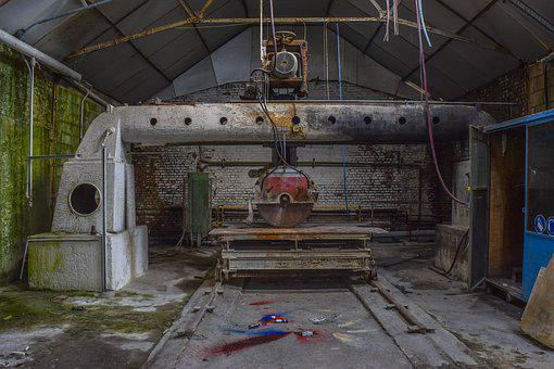 Lost Places, Factory, Industry, Pforphoto, Hall