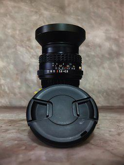 Metal 28mm Lens, Pentax, M, Asahi, Lens, Vintage, Metal