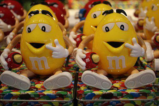 Chocolate, Smile, Mnm, Happiness, Joy, Choc, Yellow