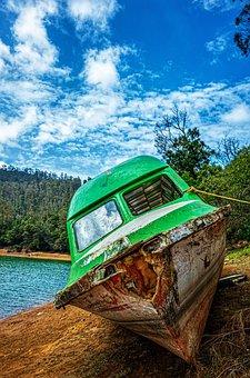 Riverside, Boat, Water, Travel, Outdoor, Scenery
