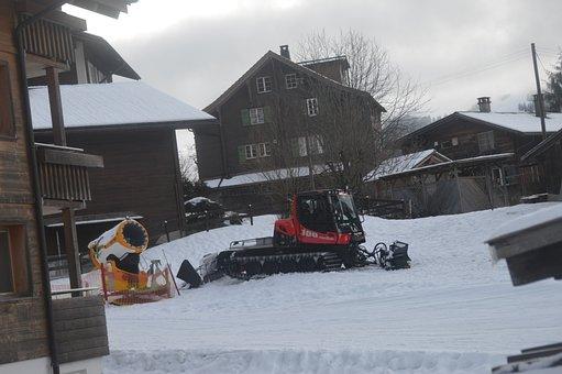 Pisten Bully 100, Snow Cat, Snow Machine, Piste Groomer