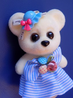 Bear, Toy, Cute, Plush, Sweet, Nice, Funny, Play, Eyes