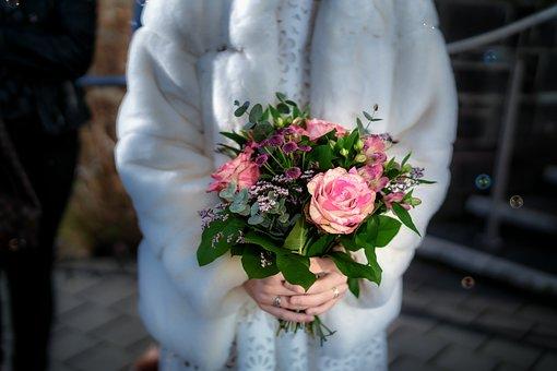 Wedding, Flowers, Romance, Bouquet, Roses