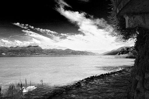 Garda, Italy, Sirmione, Summer, Travel, Mountains