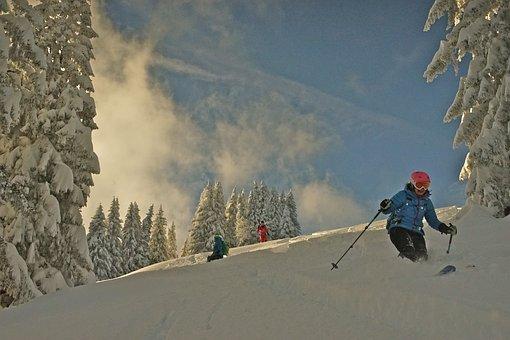 Skiing, Touring Skis, Sport, Ski, Winter Sports