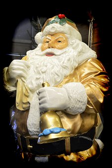 Father Christmas, Figurine, Statue, Decoration