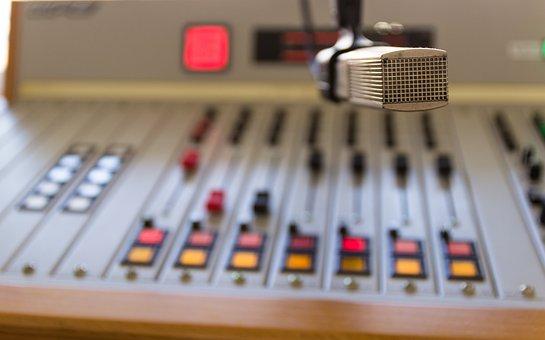 Radio, Microphone, Mixer, Audio, Studio, Sound, Media