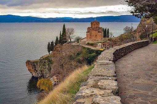 Sveti Jovan Kaneo, Ohrid, North Makedonia, Landscape