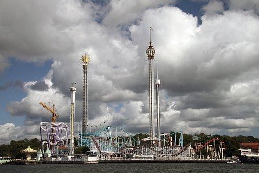 Stockholm, Sweden, City, Fair, Architecture, Building