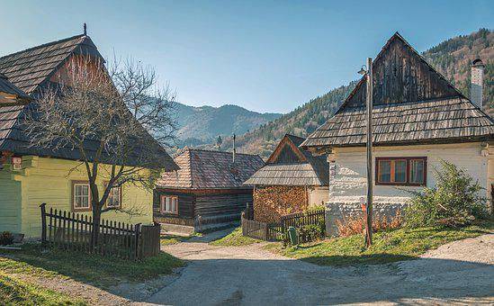 Vlkolinec, The Open-air Museum, Village, Travel