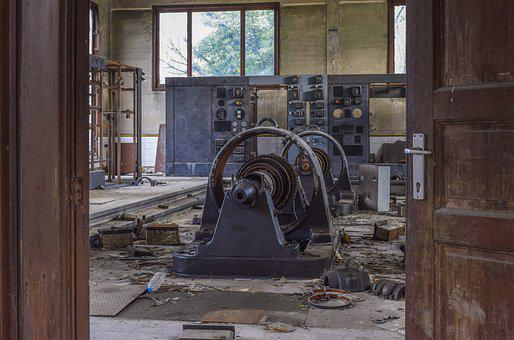 Lost Places, Turbine, Power Generation