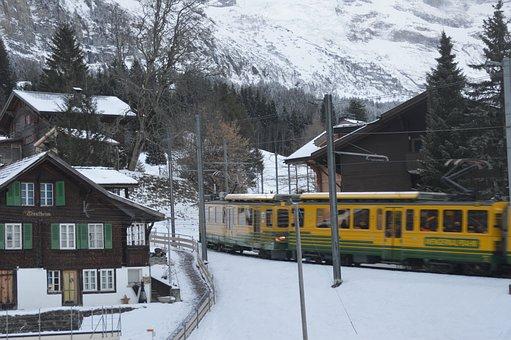 Wengen, Wab, Wengen Station, Mountains