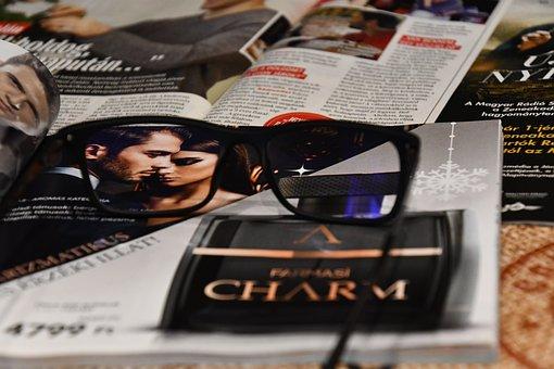 Love, Specs, Magazine, Point, Men's, Woman, A Couple Of