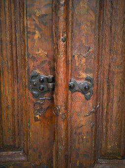 Door, Old, Wood, Architecture, Detail, Culture