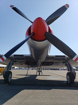 Reno Air Races, Nevada, Airplane, Airport, Tarmac