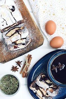 Cupcake, Baking, Breakfast, Food, Dessert