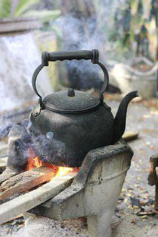 Boil Water, Water, Kettle, Beverage, Hot, Tea