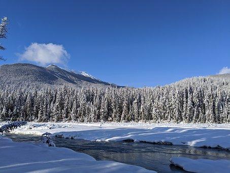 Blaeberry River, Blaeberry, British Columbia, Mountains