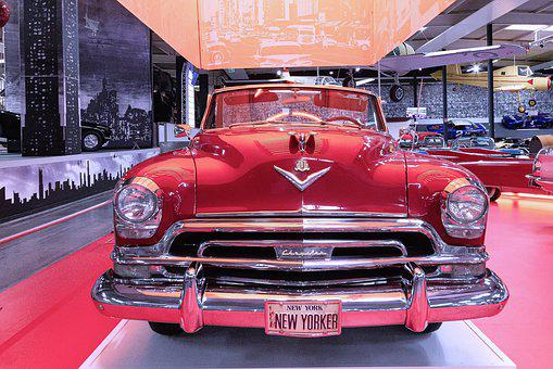 Oldtimer, Chevrolet, Auto, Vehicle, American, Red