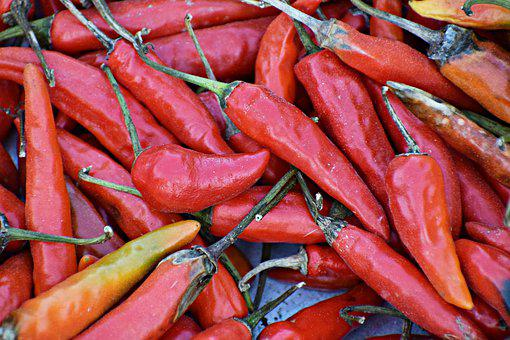 Chili, Red, Pepper, Cooking, Spice, Food, Hot, Spicy
