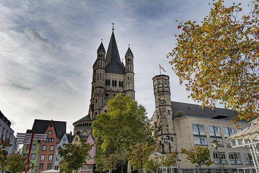 Cologne, Architecture, Germany, Building, City, Church