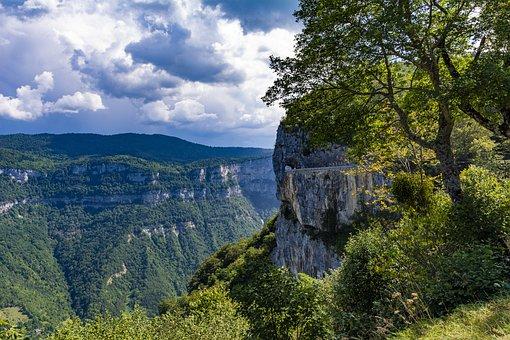 Mountains, France, Clouds, Landscape, Tourism, Mountain