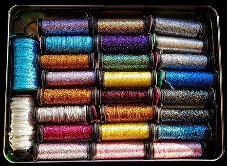 Thread, Sewing, Embroidery, Needlework, Stitch, Spool