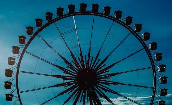 Ferris Wheel, Year Market, Folk Festival, Fairground