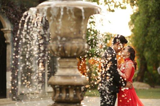 Fountain, Romantics, Cute