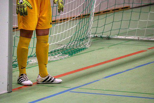 Goal, Goalkeeper, Women's Football, Football, Yellow