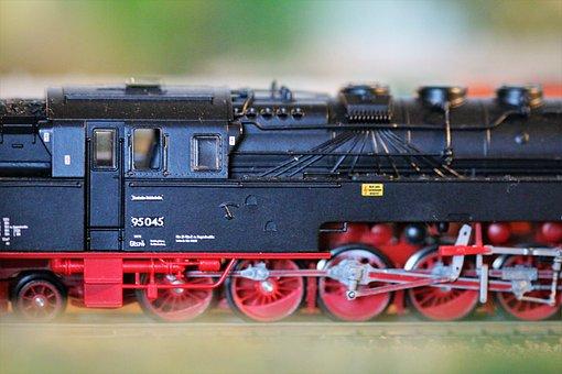 Miniature, Railway, Toys, Model Train