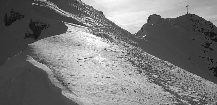 Skiing, Ski Touring, Winter, Mountaineer, Winter Sports