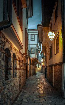 Street, Houses, Stone, Architecture, Old, Building