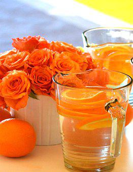 Oranges, Roses, Flowers, Romantic, Floral, Bouquet