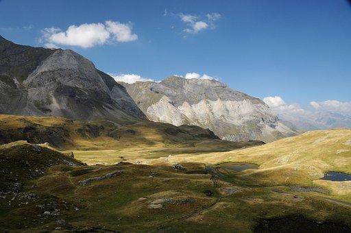 Mountain, Pyrénées, Landscape, Mountains, Nature, Sky