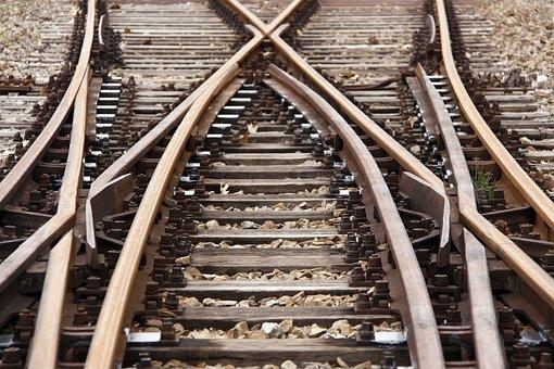 Rails, Railway, Train, Railway Line, Yield, Soft