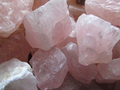 Rose Quartz, Crystals, Gem, Stone, Pink, Healing, Rocks