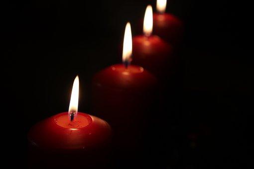 Candles, Christmas, Romance, Advent, Light, Decoration