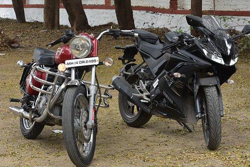 Bike, Royal Enfield, Motorcycle, Bullet, Ride