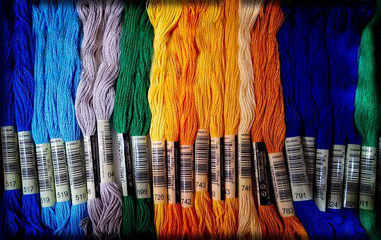 Thread, Sew, Floss, Sewing, Craft, Embroidery, Handmade
