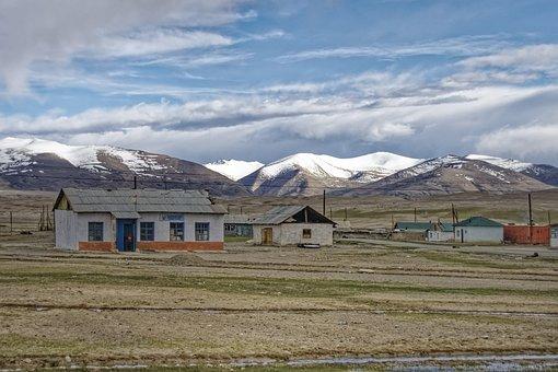 Tajikistan, Alichur, Place, Village, Building