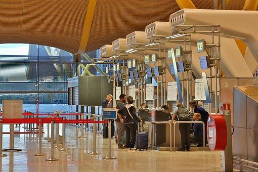 Airport, Tex Free, Madrid, Spain, Barajas, City, Refund